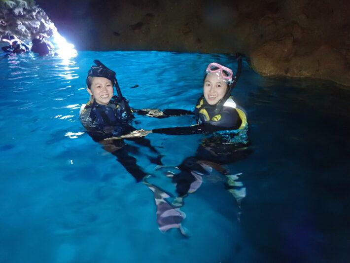沖繩青之洞窟 浮潛 休閒潛水