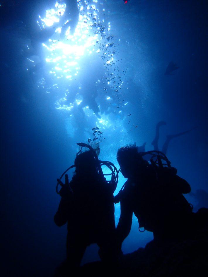 青洞 浮潛 潛水