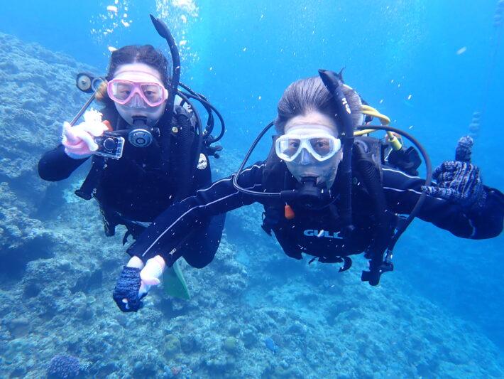 沖繩蘭動 休閒潛水 體驗潛水