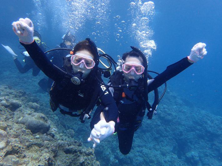體驗 潛水 沖繩