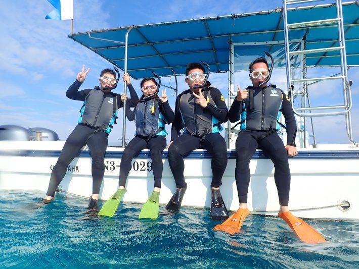 沖繩 青之洞窟 浮潛