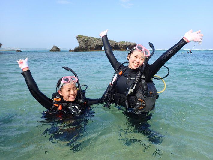 體驗潛水 沖繩