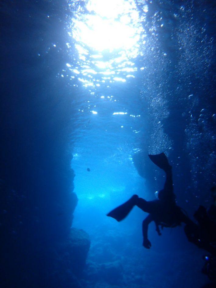 青之洞窟 藍動 潛水 推薦