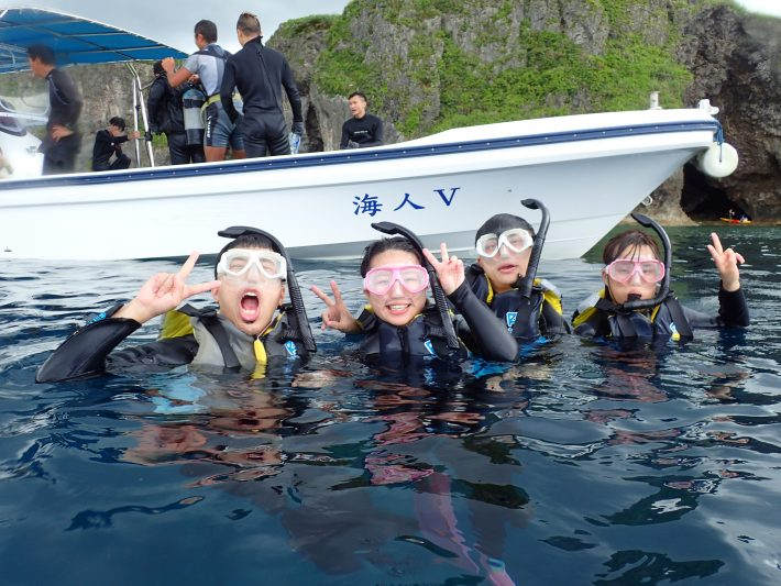 沖繩 浮潛 青洞