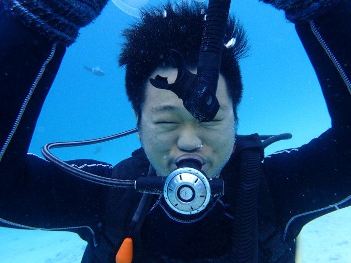 面鏡排水技巧 潛水執照必學項目