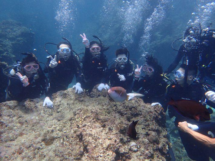 沖繩 青洞 中文 潛水