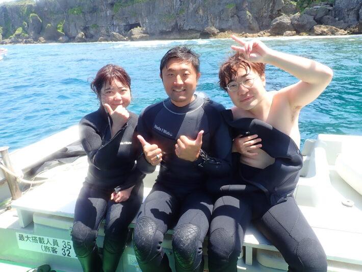 沖繩浮潛 中文教練 體驗潛水