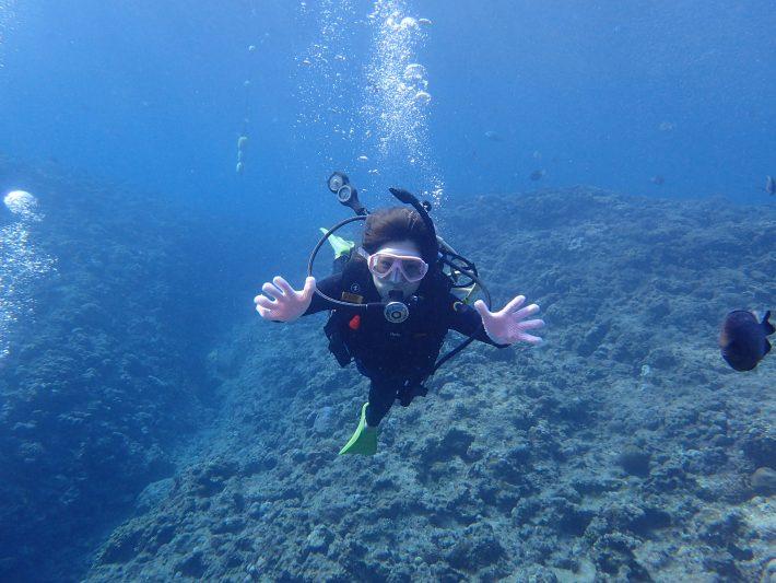 體驗潛水 中文