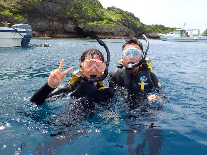 沖繩青之洞窟 青洞浮潛 中文