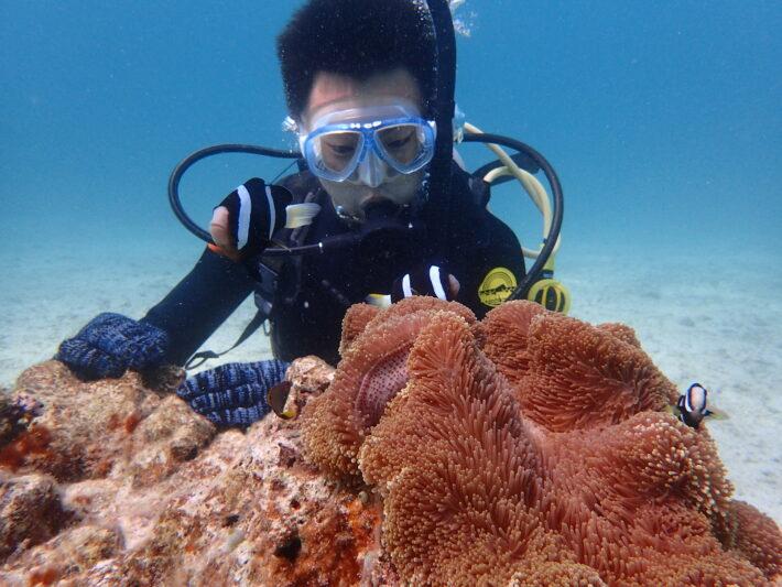 沖繩潛水 中文教練 藍洞浮潛