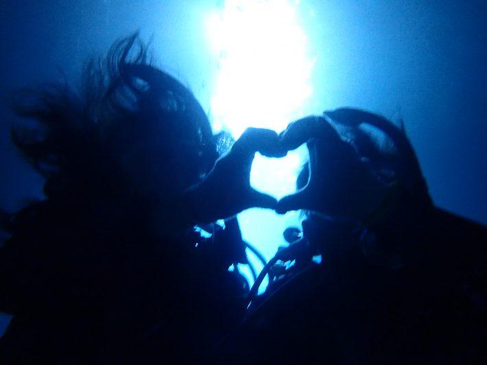 青之洞窟 藍動 潛水