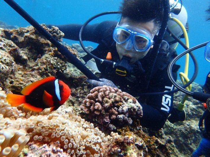 體驗 潛水 沖繩 中文
