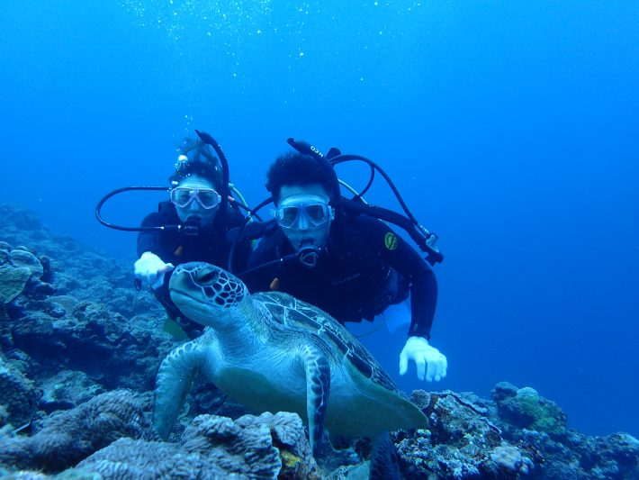 藍洞 體驗潛水