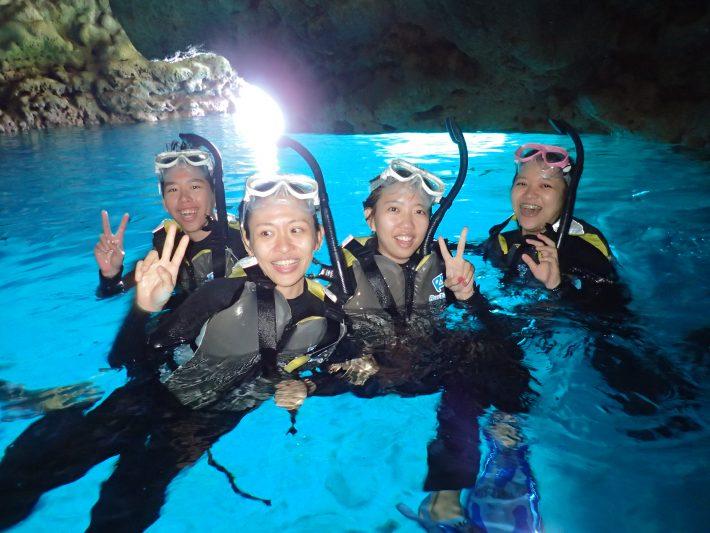 青之洞窟 藍動 青洞