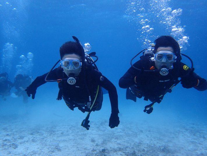 沖繩 PADI 潛水課 OW