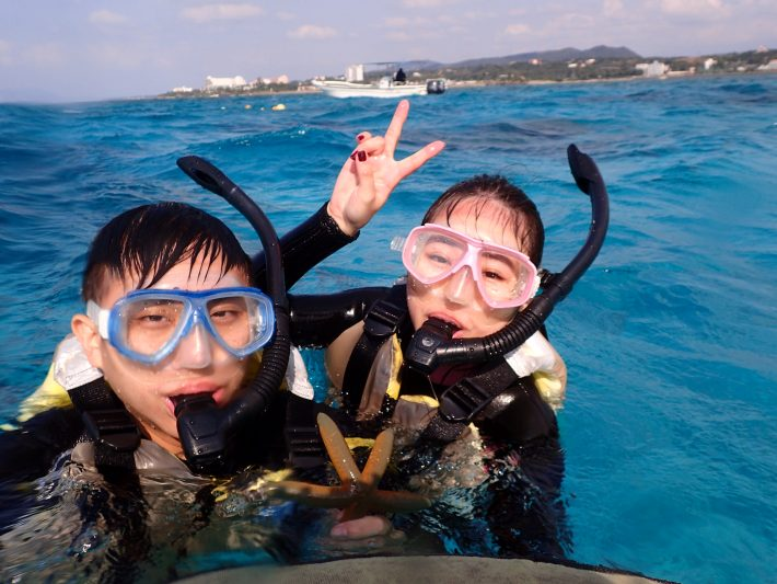 沖繩 青洞 浮潛