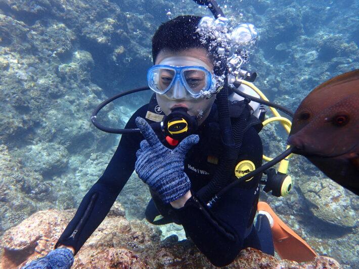 沖繩夢幻礁 體驗潛水 藍洞