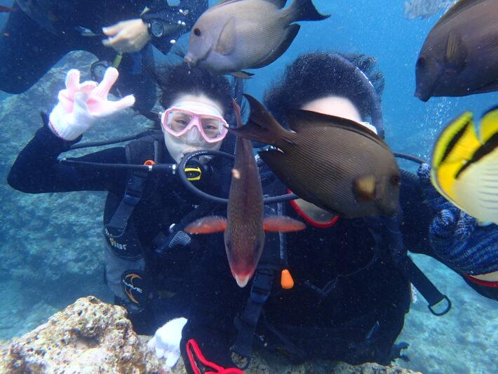 沖繩潛水 藍洞浮潛 FUN DIVE