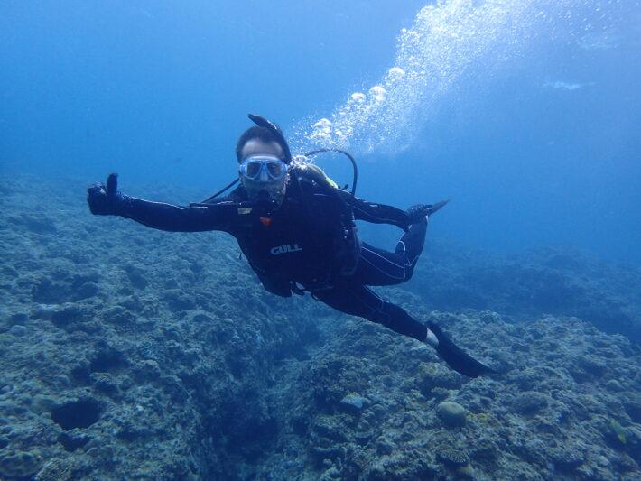 沖繩 PADI潛水證照 青洞浮潛