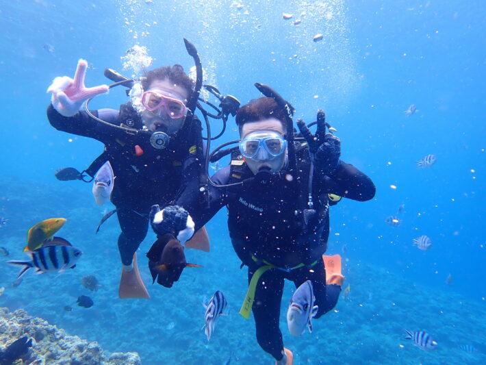 沖繩體驗潛水 青之洞浮潛