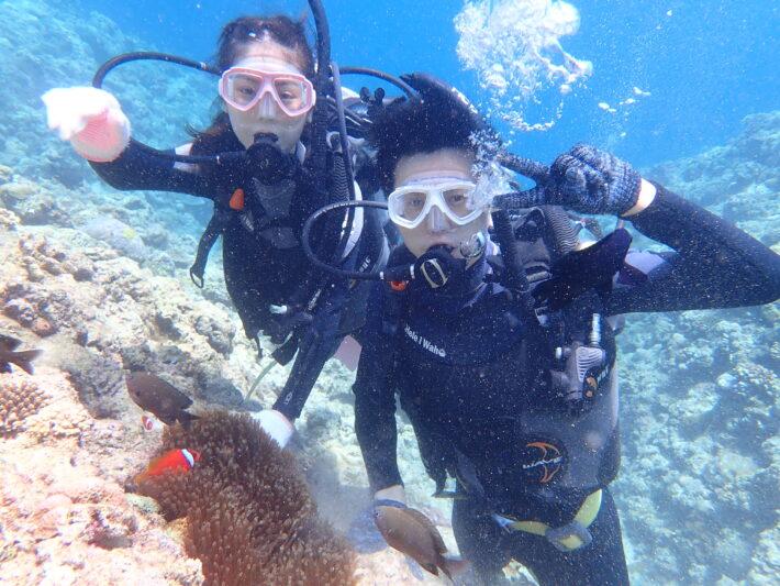沖繩 青之洞窟 潛水
