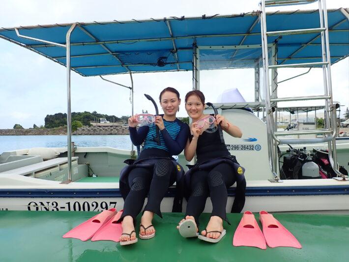 沖繩潛水 夢幻礁 浮潛