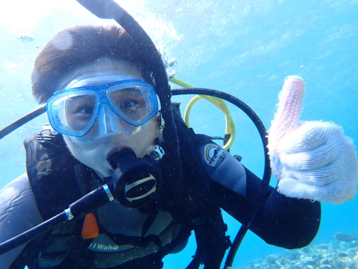 沖繩潛水 青之洞窟 中文服務