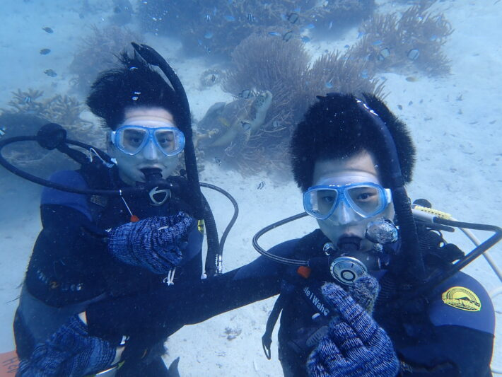 沖繩潛水 夢幻礁 浮潛 海龜